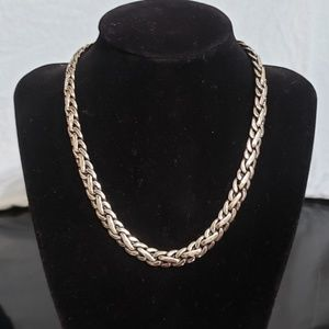 Ralph Lauren braided chain necklace